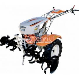 Motocultor O-Mac New 1350-S, 13 CP, cu diferential + roti c. + plug rev. | sateanul.ro