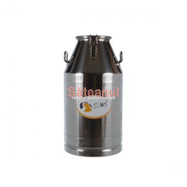Bidon transport D180, inox, 40 litri