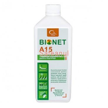 Dezinfectant suprafete Bionet A15 | sateanul.ro