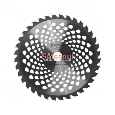 disc cosire motocoasa, dinti vidia, 255 x 25,4 mm, Rotakt