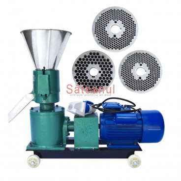 Granulator furaje KL-120 (cu motor)