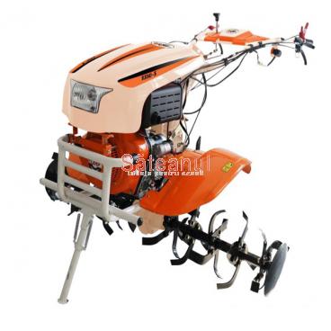 Motocultor O-Mac NEW 1350-S, diesel, 12 CP, pornire + diferential, roti | Săteanul.ro