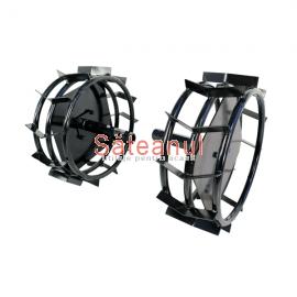 Roti metalice cu manicot motocultor LC90/LC1200/1350 | sateanul.ro