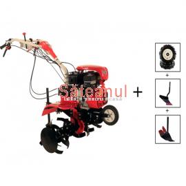 Motocultor Loncin LC1200 (3+1), 8 CP, cu roti | Săteanul.ro