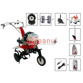 Motocultor Prorun PT-750A, 7 CP, cu accesorii | Săteanul.ro