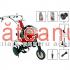 Motocultor Prorun PT-750A, 7 CP, roti metalice | Săteanul.ro
