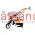 Motocultor O-Mac New 750 Eco, 7 CP, cu roti c. + plug + rarita + roti m. | sateanul.ro