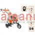 Motocultor O-Mac New 1000-S, 8 CP, cu accesorii | sateanul.ro