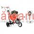 Motocultor Prorun PT-9000A, cu freza zapada Stiga | Săteanul.ro