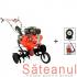 Motocultor Prorun PT-900A, cu diferential & roti + atomizor Kasei 3WF-14B