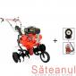 Motocultor Prorun PT-9000A, cu atomizor Kasei 3WF-14B