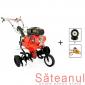 Detalii motocultor Prorun PT-9000A, 7 CP + drujba