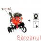 Motocultor Prorun PT-9000A, cu freza zapada, detalii