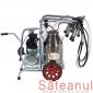 Mulgatoare vaci EMT1+1A40, bidon aluminiu, 40 litri